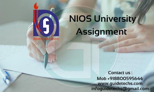 NIOS Solved Assignment For Mathematics (311)