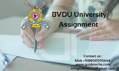 BVDU MBA Solved Assignment For Organizational Behavior