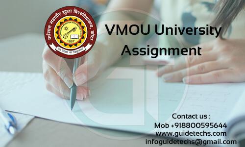 VMOU MAHD Solved Assignment For MAHD-03 Hindi Sahitya ka Itihaas